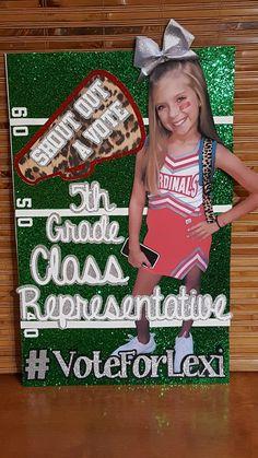 Student council election poster.   JULIANA   Pinterest ...