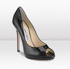 cc8379c655f JIMMY CHOO THE PERFECT PEEP TOE SANDAL BLACK  163 Beige High Heels