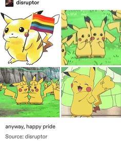Pokemon Comics, Pokemon Funny, Pokemon Memes, Pikachu, Lgbt Memes, Funny Memes, Gay Lindo, Lgbt Love, Lgbt Community
