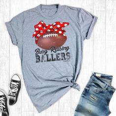 - Premium Short Sleeve Soft Crew Unisex-Are You Ready For Some Football Football Mom Shirts, Football Tshirt Designs, Football Sister, Football Moms, School Football, Football Season, Game Day Shirts, Football Fashion, Spirit Shirts