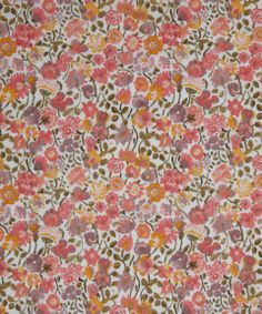 NEW SEASON! Liberty Art Fabric Kaylie Sunshine C Tana Lawn | Classic Tana Lawn by Liberty Art Fabrics | Liberty.co.uk