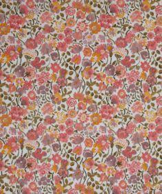 NEW SEASON! Liberty Art Fabric Kaylie Sunshine C Tana Lawn | Classic Tana Lawn by Liberty Art Fabrics | Liberty.co.uk