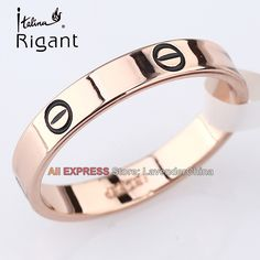 cf7a78f33b A1-R3123 Italina Rigant Fashion Plain Band Ring 18KGP Jewelry Size 5.5-11.5