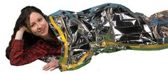 Emergency Survival Mylar Thermal Sleeping Bag 2 Pack Grizzly Gear 84 X 36 >>> To view further for this item, visit the image link.