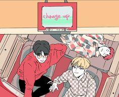 Seventeen || Art || SCoups || Hoshi || Woozi || SVT_Leaders || Change_Up