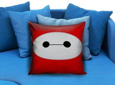 Baymax Face Big Hero 6 Pillow Case Pillow Cover Printed 18x18 16x24 20x30 Modern Pillow Case Decorative Throw Pillow Case One Side Printing   These soft pillowcase made of 50% cotton, 50% polyester.  It would be perfect to decorate your home by using our super soft pillow cases on sofa, chair, bench or bed.  Customizable pillow case is both comfortable and durable, improving the quality of your sleep with these comfortable pillow case, take it home now!  Custom Zippered Pillow Cases…