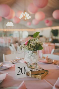 classic table numbers, vintage blush wedding.