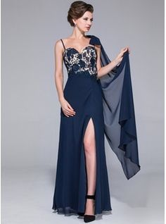 Wedding Party Dresses - $188.99 - Sheath Sweetheart Floor-Length Chiffon Charmeuse Mother of the Bride Dress With Lace  http://www.dressfirst.com/Sheath-Sweetheart-Floor-Length-Chiffon-Charmeuse-Mother-Of-The-Bride-Dress-With-Lace-017025683-g25683