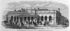 The Metropolitan Railway's second Farringdon station, 1866.
