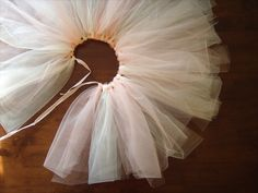 DIY tutu for the lullaby guild