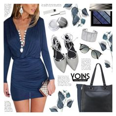 """""""Yoins 4"""" by becky12 ❤ liked on Polyvore featuring Burberry, Ray-Ban, Givenchy, yoins, yoinscollection and loveyoins"""