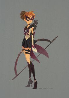 Ann Marcellino - Sailor Avengers Sailor Hawkeye