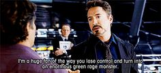 After watching Avengers today, I will be quoting it constantly for the next week.
