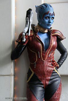 Samara, Mass Effect 2 by Rana - www.facebook.com/SamaraME2 | D*Con 2012 #cosplay