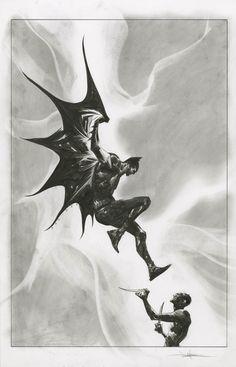 BATMAN #1 VARIANT COVER - JAE LEE - 2016 - W.B.