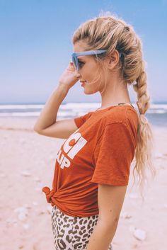Barefoot Blonde Amber Fillerup's braid is so perfect