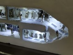 Battle of Hoth Diorama by L&M Studio Star Wars Pictures, Star Wars Images, Maquette Star Wars, Star Wars Figurines, Star Wars Room, Star Wars Facts, Star Wars Models, Star Wars Merchandise, Star Wars Action Figures