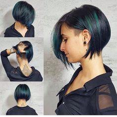 "Gefällt 1,306 Mal, 6 Kommentare - Felice Capelli (@boblovers) auf Instagram: ""Haircut by @labottegadellostile #bobhaircut #undercut #carrè #sidecutstyle #bobhairstyle #rasatura…"""