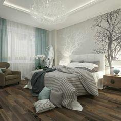 chambre à coucher adulte ? 127 idées de designs modernes | papier ... - Papier Peint De Chambre A Coucher