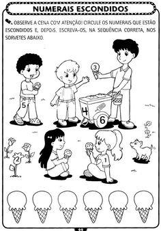 Atividades de matemática para Educação Infantil - Atividades Pedagogicas