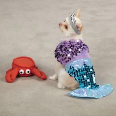 69d292dd8 X Small Chihuahua Maltese Yorkie Toy Dog Costume Mermaid Halloween Dog  Clothes