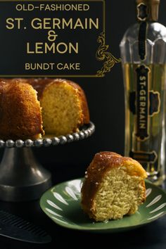 Old_Fashioned St Germain and Lemon Bundt Cake from Kylie at The Baking Bird