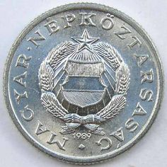1 Ft 1989 Old Money, Budapest Hungary, Coin Collecting, Old Photos, Childhood Memories, Coins, The Past, Flag, 1