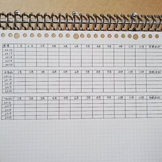 2015.11.12 . 暇~な時間を見つけては少しずつ進めてる来年~の家計簿の 『年間月別早見表』←勝手に名付けたw . またまた5年分(o´艸`) . . さて~♡友人とlunch~←こうゆうのは絶対にケチらない(o´艸`) . . #尚家計簿 #家計簿 #やりくり上手になりたい #バインダー #手書き