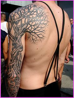 Winter #tree #tattoo by EvilChick, via Flickr