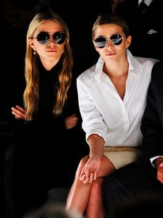 Olsen twins,  when they look more like this..