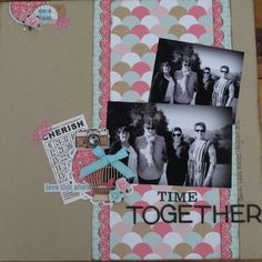 another dt layout by Mandy Gilchrist using the Echo Park papers called Everyday Eclectic