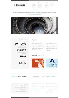 Brandspace - Minimal Portfolio & Business Website Template