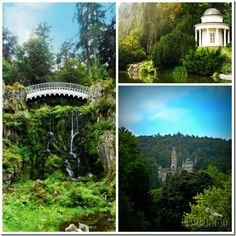 Bergpark Wilhelmshöhe in Kassel Germany. Like a fairy land!