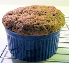 One Minute Flax Muffin! Flaxseed meal, baking powder, egg, cinnamon and stevia
