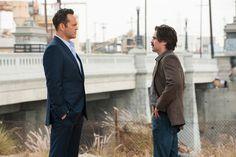 True Detective HBO | Season 2 | Colin Farrell as Detective Ray Velcoro. Vince Vaughn as Frank Semyon