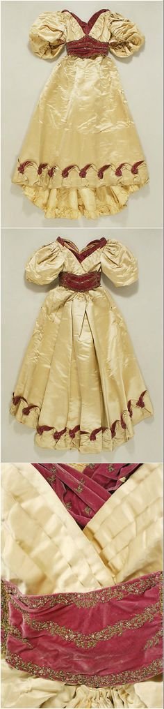 Evening dress by Jacques Doucet, 1893-96, at the Met. See: http://www.metmuseum.org/collections/search-the-collections/106672?img=0