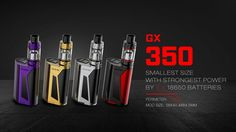 Other Gadgets: 100% Authentic Smok Gx350 Kit ( With Tfv8 Tank ) - Black Red Color Combo -> BUY IT NOW ONLY: $69 on eBay!