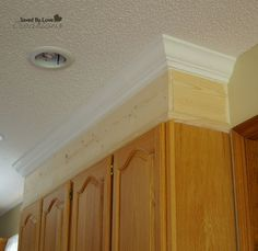 Adding Crown Molding To Kitchen Cabinets Take Cabinets To Ceiling With Crown Moulding So Important Before .