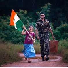 Huge platform for unique photos ! See More : Generate Good. Indian Flag Wallpaper, Indian Army Wallpapers, Happy Independence Day India, Independence Day Wallpaper, Indian Flag Photos, Indian Pictures, Army Couple Pictures, Indian Army Special Forces, Indian Army Quotes