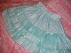 Dollhouse Diaries: Throwback Thursday: Lolita Skirts My Sis Made in the Past