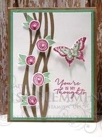 """Card Measurements: Tip Top Taupe Card Base: 4 1/4"""" x 11"""" Mint Macaron Card Layer: 5 1/4"""" x 4"""" Whisper White Card Layer: 5"""" x 3 3/4"""""""