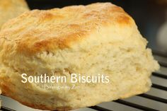 "Southern Biscuits - another pinner said ""I have made these biscuits many many times since I first found it.  I have doubled the recipe (it makes 12 lg.)  I have made w/o buttermilk and used skim milk with a little bit of vinegar and they came out fine.  Easy recipe, quick to make."""