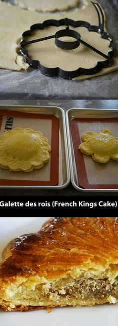 This month, most French pastry shops fill up their shops with galettes des rois, flaky puff pastry filled with almond cream. To make your own, here's my recipe...