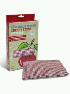 Almohada termica Cherry Stone by Vp pharma. Rellena de huesos de cereza, mantiene el calor y el frio. Totalmente natural. De venta en farmacias