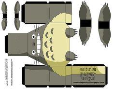 Totoro papertoys
