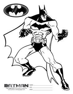Free Batman Coloring Pages For Kids Batman Coloring Pages Coloring Pages Free Coloring Pages