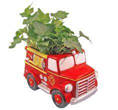 Fire Engine Planters make a great centerpiece for any gathering!