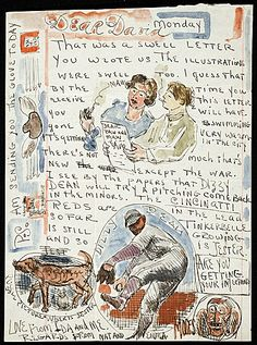 Moses Soyer letter to David Soyer
