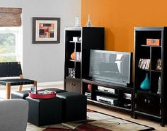 [ Posts Related Best Paint Color For Living Room With Black Furniture The Dining ] - Best Free Home Design Idea & Inspiration Accent Walls In Living Room, Accent Wall Bedroom, Paint Colors For Living Room, Interior Design Living Room, Living Room Designs, Best Paint Colors, Black Furniture, Living Room Remodel, House Design