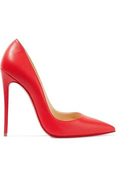 Christian Louboutin - So Kate 120 Leather Pumps - Red - IT38.5